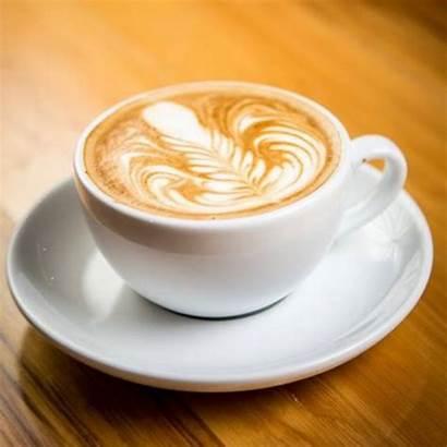 Espresso Schaum Cappuccino Typischen Goldbrauner Farbe Coffee