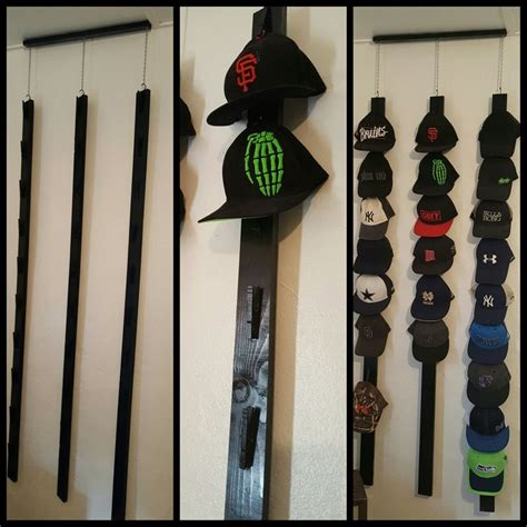 hat rack ideas homemade hat rack holds 30 hats made with clothes pins home pinterest homemade diy hat