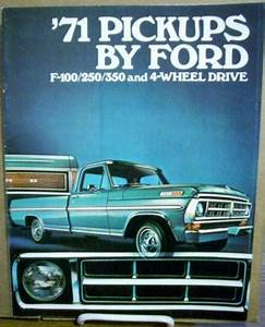 Ford F100 Parts 1971