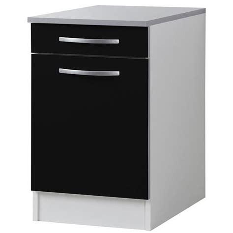 meuble cuisine noir meuble de cuisine noir pas cher