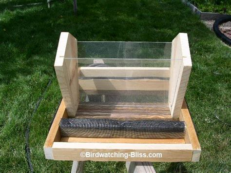 bird feeder plans easy step  step instructions