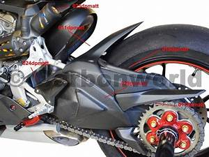 Wire Cover Swingarm Carbon Mat For Ducati 1199 1299 Panigale