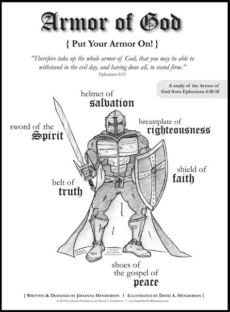 coloring pages  armor  god coloring home