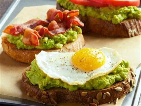 avocado toast  ways recipe bobby flay food network