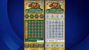 CA Lottery Scratchers California