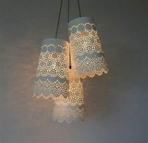 Lampen Selber Basteln : diy lampe 40 verlockende und interessante bastelideen ~ Watch28wear.com Haus und Dekorationen