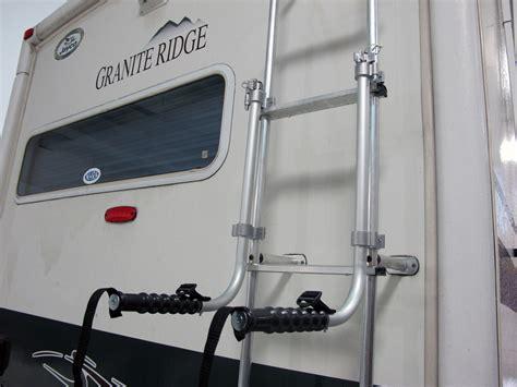 surco lawn chair rack  vans  rvs ladder mount