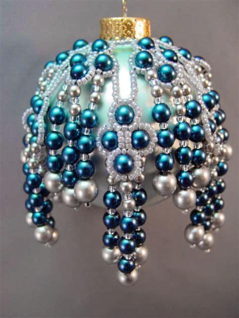 beautiful christmas ornaments  barbara talijan beads magic