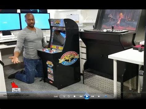 arcade cabinet video review street fighter