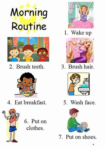 Preschool Night Morning Routines Healthy Steps October
