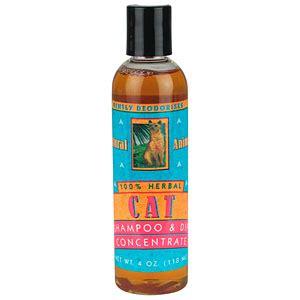 natural animal shampoo  dip  cats concentrate