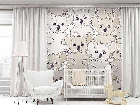 koala sur le mur papier peint pour la chambre d enfant