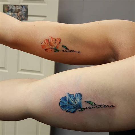 superb sister tattoos matching ideas colors symbols