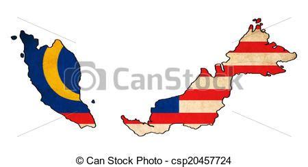 malaysia map  malaysia flag drawing grunge  retro