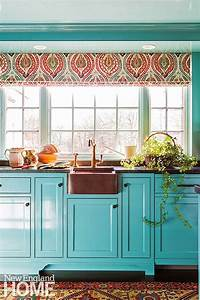 best 25 turquoise kitchen cabinets ideas on pinterest With kitchen colors with white cabinets with coral colored wall art