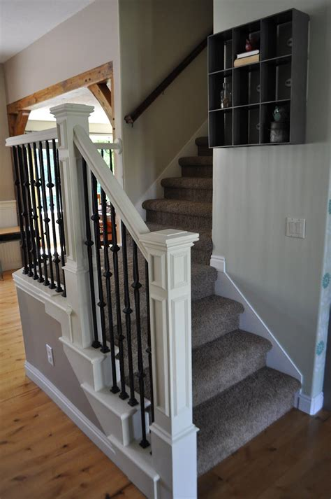 Banister And Baluster by I Am Momma Hear Me Roar Stair Makeover With Sloan