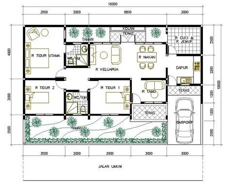 desain rumah minimalis modern  kamar tidur
