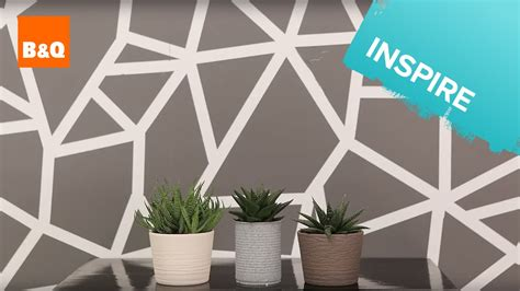 painting geometric shapes on walls create a geometric wall youtube