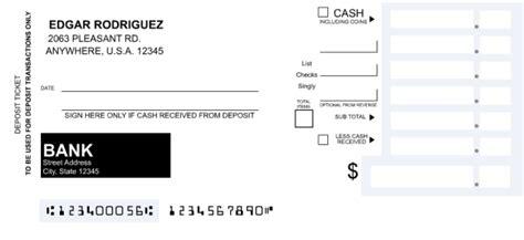 blank deposit slip c 243 mo llenar una hoja de dep 243 sito on banking