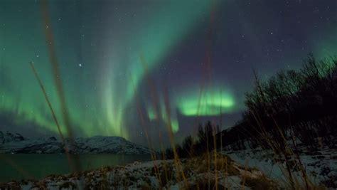 time lapse borealis sky solar