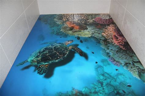 Steps To Install 3D Flooring In Your Bathroom