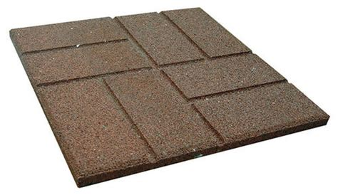menards 16 patio blocks 16 quot reversible rubber paver