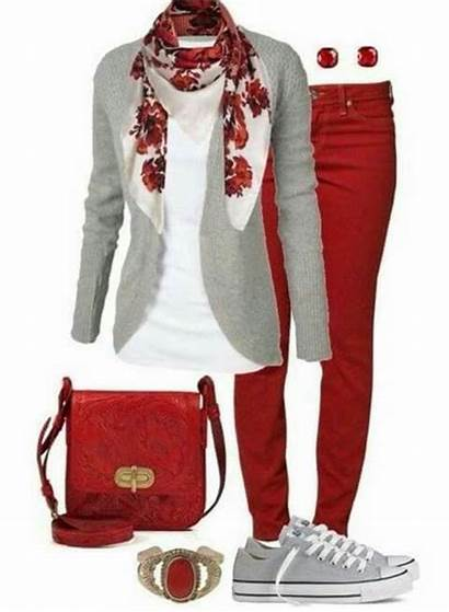Outfit Outfits Pants Casual Jeans Polyvore Winter