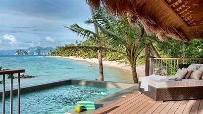 Island Resort Palawan Fiji Philippines Beach Wallpapers