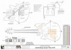 Solid Body Electric Guitar Plan  10
