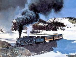 Univers Auto Gap : steam train painting by howard fogg railroad art of howad fogg pinterest train ~ Gottalentnigeria.com Avis de Voitures