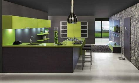 cuisine verte et grise la cuisine grise plutôt oui ou plutôt non