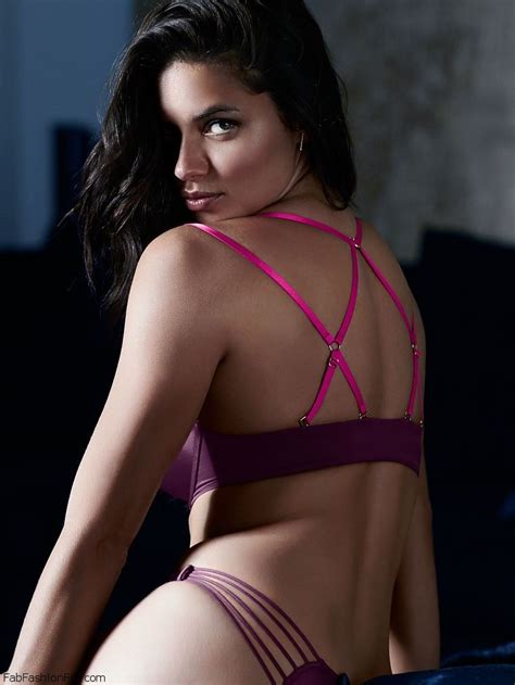 Adriana Lima flaunts her sexy body for the new Victoria's