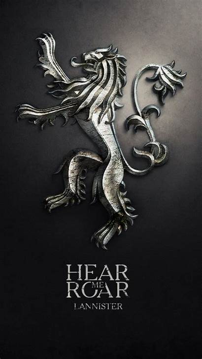 Thrones Iphone Wallpapers Lannister Got Sigil 3d