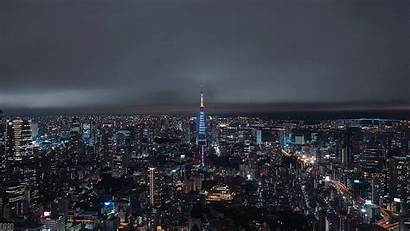 Tokyo Tower Lapse Cinemagraph Night Aesthetic Coub