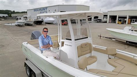 Joel Moss Sea Hunt Boats boat building catches a rising tide in midlands the state