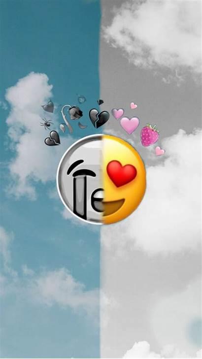 Emoji Iphone Emojis Fond Wallpapers Ecran Pantalla