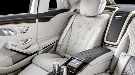 In the interior, exclusive materials and sophisticated highlights testify to the highest of quality, underlining the ultimate in luxury. 2019 Mercedes-Maybach S 650 Pullman - Interior, Seats   HD ...