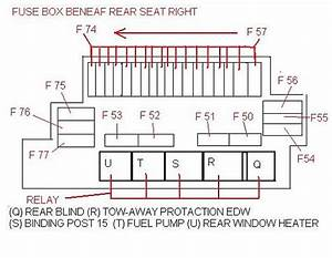 2001 Mercede S430 Fuse Box Diagram