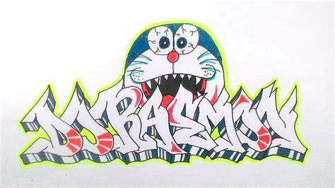 Grafiti Doraemon : Cara Menggambar Graffiti Doraemon
