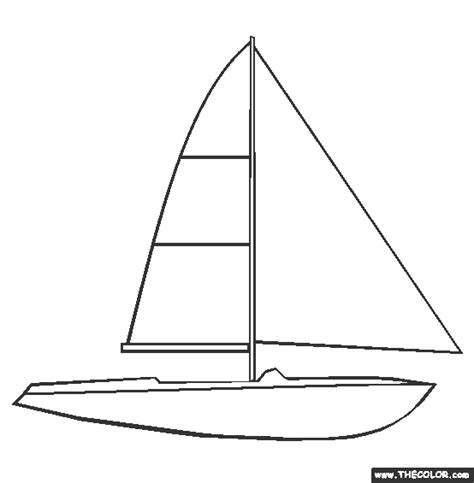 Outline Of Boat To Colour by Boat Ship Speedboat Sailboat Battleship Submarine