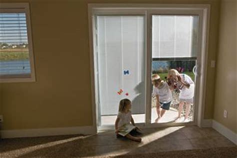 all about patio doors with built in blinds feldco