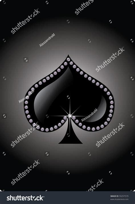 spades symbol stock vector  shutterstock