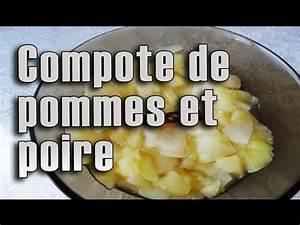 Compote Poire Pomme : compote de pommes et de poires faite maison maman cuisine youtube ~ Nature-et-papiers.com Idées de Décoration