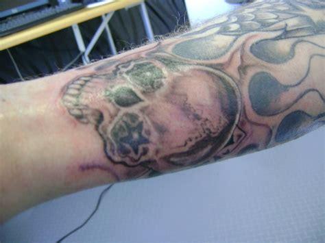 tatouage avant bras motard modeles  exemples