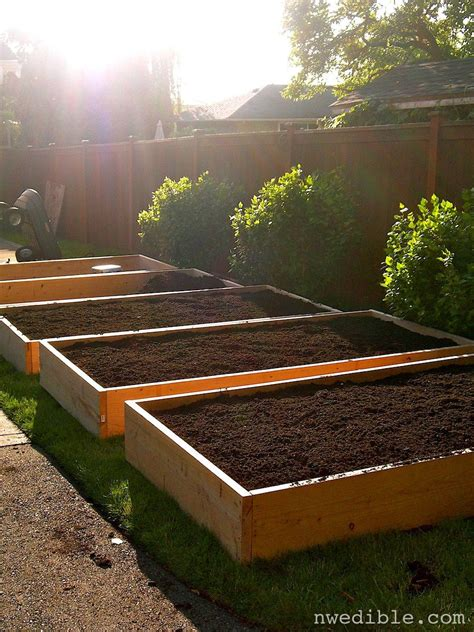 Garden In A Box by How To Begin Growing Vegetable Gardens In Raised Beds