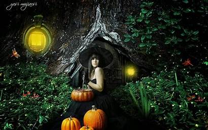 Witches Halloween Samhain Pagan Witchy Wallpapers Days