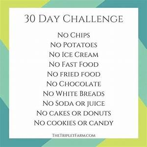 """30 Day """"Don't Eat This"""" Food Challenge"""