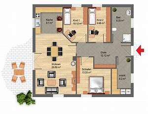 Bungalow Grundrisse 4 Zimmer : construct haus bungalows ~ Eleganceandgraceweddings.com Haus und Dekorationen