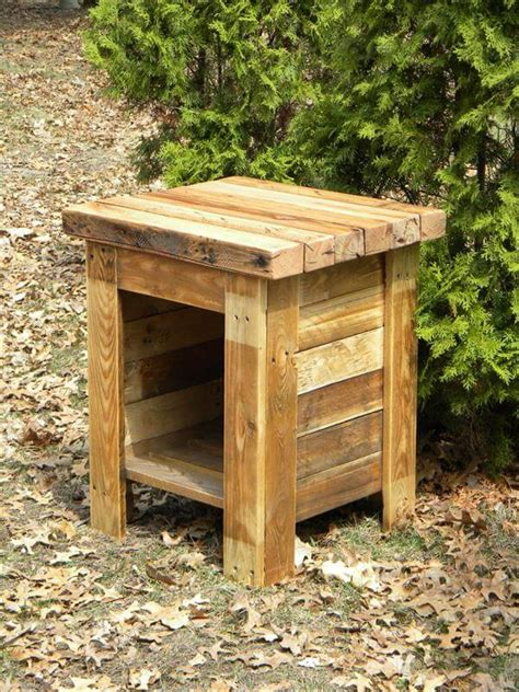 We would be today speaking about pallet coffee table. DIY Wood End Table | Pallet Furniture DIY