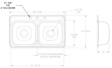 standard size kitchen sink kitchen sink drain diameter sink ideas 5779